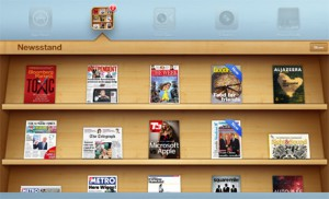 Stand the libros de Apple