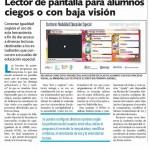 Discapacidad visual y accesibilidad web